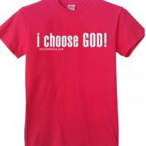 I Choose God Pink