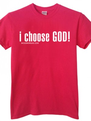 I Choose God Pink
