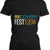 Recovery Fest TShirt 2014